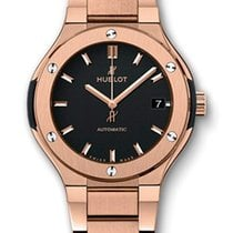 Hublot Classic Fusion 33 MM Automatic 18K King Gold Women'...