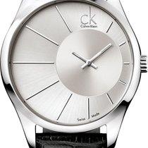 ck Calvin Klein Deluxe K0S21120 Legere Herrenuhr Swiss Made