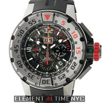 Richard Mille 47mm Flyback Chronograph Diver Titanium Skeleton...