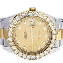 Rolex Mens Rolex Datejust II 116333 18K/ Steel Two Tone 41MM...