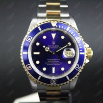 Rolex Submariner Date - Flat S - Purple dial- Full Set