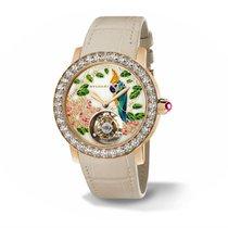 Bulgari Bvlgari 18k Rose Gold Tourbillon 37mm Watch