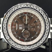 Breitling Bentley 6.75 A44362 Steel Chrono 49mm 6.5 CT Diamond...