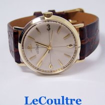 Jaeger-LeCoultre Solid 14k JAEGER Winding Mens Watch 1960s...