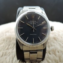 Rolex AIR KING 5500 Original Blue Texture Dial with Rivet Band