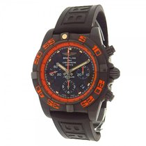 Breitling Chronomat 44 Raven MB0111 Black Stainless Steel...