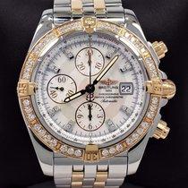 Breitling Chronomat Evolution C13356 Factory Diamond Bezel...