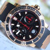 Ulysse Nardin Maxi Marine Diver Chronograph 42.7mm 18kt Ros