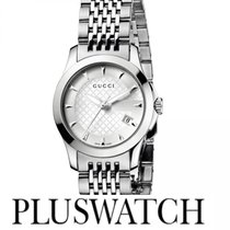 Gucci G-Timeless Silver Dial 27mm YA126501 T