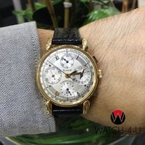 Chronoswiss Klassik Chronograph CH7441 18k Yellow Gold Silver...