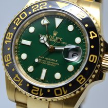 Ρολεξ (Rolex) GMT Master II GREEN 18K Gold UNPOLISHED EU LC...
