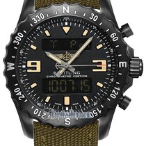 Breitling Chronospace Military m7836622/bd39/105w.m