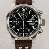 Fortis B-42 Flieger Chronograph Day Date Automatik