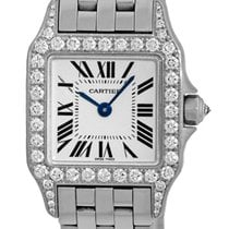 "까르띠에 (Cartier) Diamond ""Santos Demoiselle""."