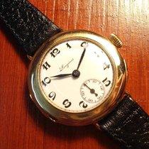 Longines 14K gold enamel dial ladies watch from 1913 cal. 11.84N