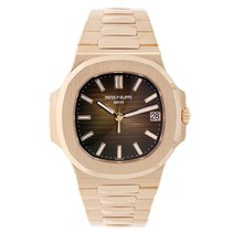 Patek Philippe Nautilus 40mm Men's Rose Gold Watch