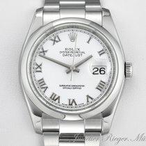 Rolex Datejust 116200 Stahl 36 mm Automatik Date Just