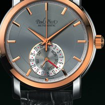Paul Picot FIRSHIRE  RONDE  DAY& DATE  skin black dial grey