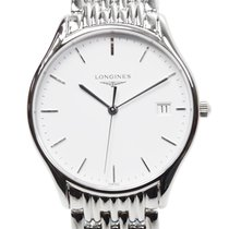 Longines Presence Stainless Steel White Quartz L4.759.4.12.6