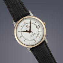 歐米茄 (Omega) De Ville Prestige stainless steel and gold...