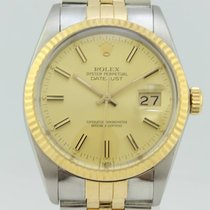 Rolex Oyster Perpetual Datejust Automatic Gold-Steel 16013