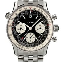 Sinn Navigations-Chronograph 903 St mit Stahlband