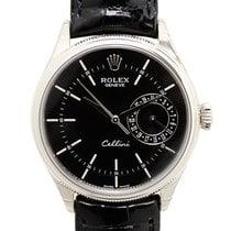 ロレックス (Rolex) Celini 18k Platinum Black Automatic 50519BK