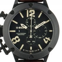 U-Boat Classico 53 Titan Black Automatik Chronograph Armband...