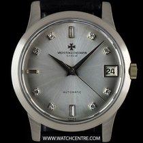 Vacheron Constantin White Gold Silver Diamond Dial Vintage...