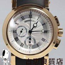 ブレゲ (Breguet) MT348  K18YG/ラバー クロノグラフ シースルーバック メンズ 腕時計...