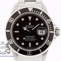 Rolex Submariner 16610 Box & Swiss Papers 1994 TRITIUM