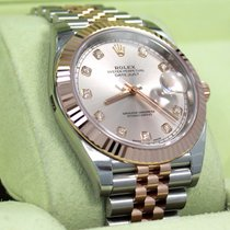 롤렉스 (Rolex) Datejust 41mm 126331 Jubilee 18k Rose Gold /ss...