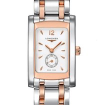 Longines DolceVita Quartz Stainless Steel and Rose Gold Watch