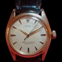 Rolex - Oyster Perpetual gold - Bubbleback - Unisex - 1950-1959
