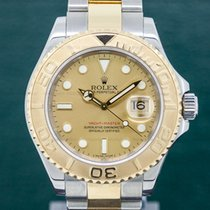 Rolex 16623 Yacht Master Champagne Dial 18K / SS (29939)