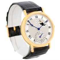 Breguet Classique Power Reserve 18k Yellow Gold Watch 3137