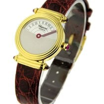 Chopard 12/7243 Ladys Mysteree Retrograde in Yellow Gold - on...