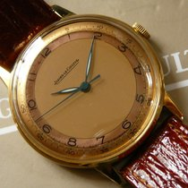 Jaeger-LeCoultre vintage 18K yellow gld dress watch, 1950s, rare