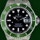 Ρολεξ (Rolex) Submariner 16610LV Anniversary Green Fat Four...