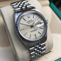 Rolex Oyster Datejust Jubilee Steel Tapestry Dial 36 mm (1997)