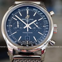 Breitling TransOcean Chronograph Black Dial Ref A4131012