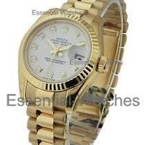 Rolex Unworn 179178 President Lady in Yellow Gold with Fluted...