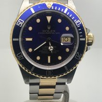 Rolex Submariner Date STEEL/GOLD BLUE DIAL