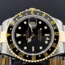 Rolex GMT Master II Ref. 16713 T 40mm 18k Yellow Gold/ Steel...