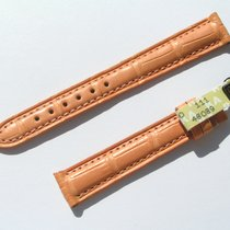 Chopard Croco Band Strap Orange 14 Mm 70/105 New C14-07 -70%
