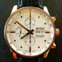 Mido Multifort Valjoux 7750 Automatik Herren Chronograph