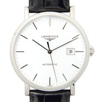 Longines Elegant Stainless Steel White Automatic L4.910.4.12.2