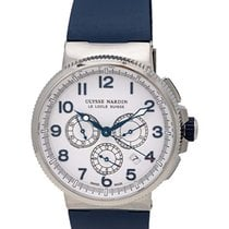 Ulysse Nardin Marine Chronograph Manufacture 43mm Mens Watch –...