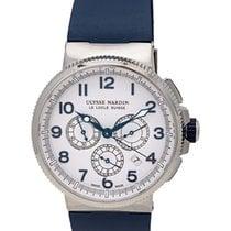 Ulysse Nardin Marine Chronograph Manufacture 43mm Mens Watch –...