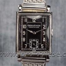 Jaeger-LeCoultre Tank Style Vintage Steel Art-deco Watch Cal....